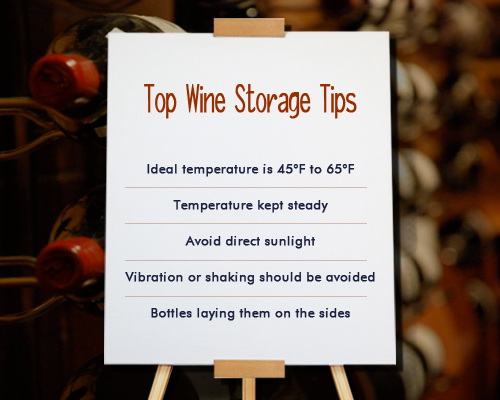 Tips to Store and Preserve Wine