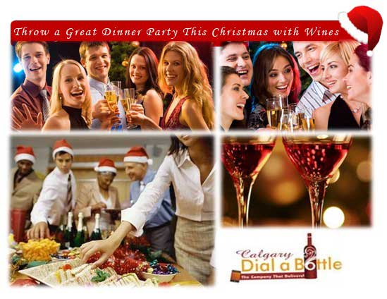 Throw a Great Dinner Party This Christmas with Wines